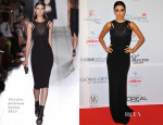 Eva Longoria In Victoria Beckham - London Global Gift Gala