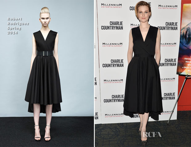 Evan Rachel Wood In Robert Rodriguez - 'Charlie Countryman' New York Screening