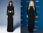Fergie In Versace - LACMA Art + Film Gala 2013