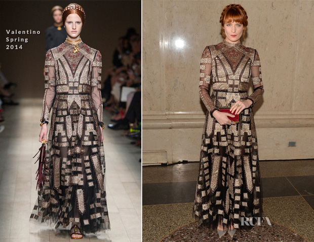 Florence Welch In Valentino - American Museum Of Natural History's 2013 Museum Gala