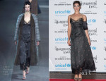 Gemma Arterton In Louis Vuitton - The UNICEF Halloween Ball