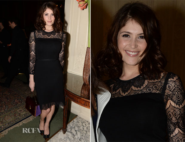Gemma Arterton In Tory Burch - Tory Burch Thanksgiving Party