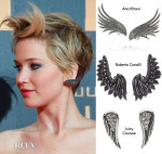 Get The Look: Jennifer Lawrence's Ana Khouri Wing Earrings