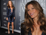 Gisele Bundchen In Atelier Versace - WSJ Magazine's 'Innovator of the Year' Awards 2013