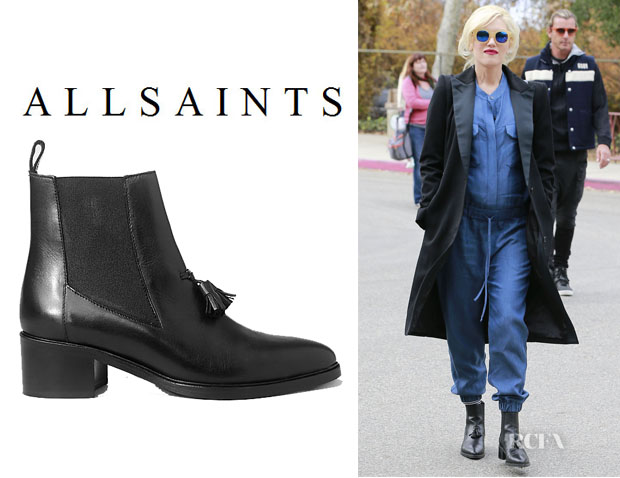 Gwen Stefani's All Saints 'Kiss' Tassel Boots