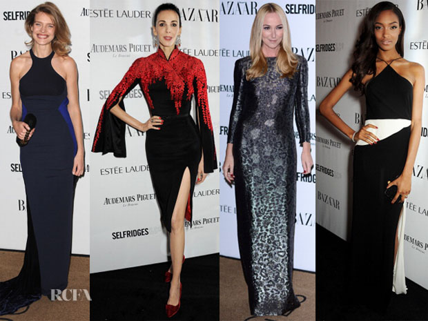 Harpers Bazaar Women Of The Year Awards Red Carpet Roundup