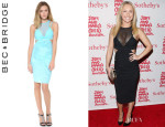 Hayden Panettiere's Bec & Bridge 'Kathy' Mesh Body Dress