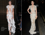 Hayley Atwell In Julien Macdonald - Evening Standard Theatre Awards