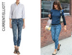 Helena Christensen's Current/Elliott 'The Stiletto' Jeans