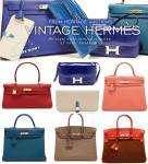 Vintage Hermès | Art Imitates Luxury