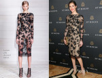 Hilary Rhoda In Jason Wu - King Cole Bar And Salon Opening