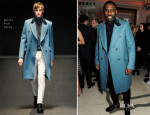 Idris Elba In Gucci - Harper's Bazaar Woman Of The Year Awards 2013