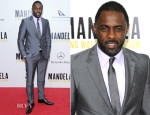 Idris Elba In Prada - 'Mandela: Long Walk To Freedom' New York Premiere