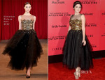 Isabelle Fuhrman In Christian Siriano - 'The Hunger Games: Catching Fire' LA Premiere