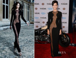 Jaimie Alexander In Azzaro - 'Thor: The Dark World' LA Premiere