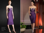 Jaimie Alexander In Pamella Roland - The Tonight Show with Jay Leno
