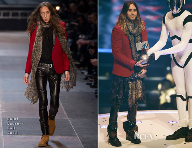 Jared Leto In Saint Laurent - MTV EMAs 2013