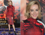 Jena Malone In ASOS - 'The Hunger Games: Catching Fire' London Photocall