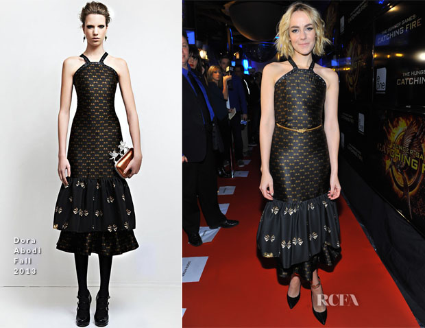 Jena Malone In Dora Abodi - 'The Hunger Games Catching Fire' Toronto Premiere