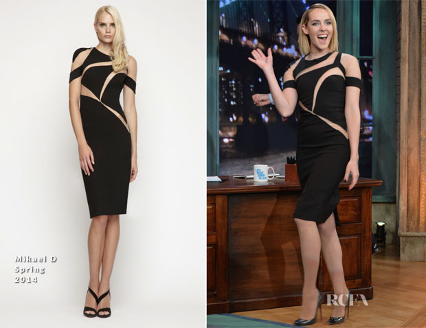 Jena Malone In Mikael D - Late Night With Jimmy Fallon