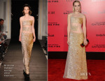 Jena Malone In Nicholas Oakwell Couture - 'The Hunger Games: Catching Fire' LA Premiere