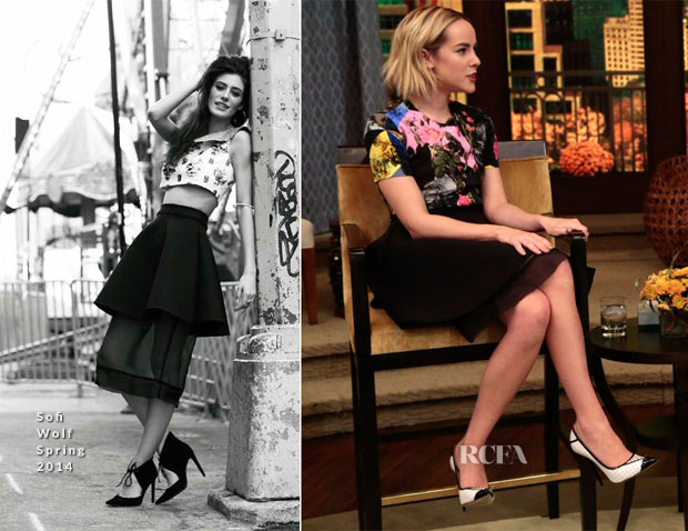 Jena Malone In Sofi Wolf - Live with Kelly & Michael