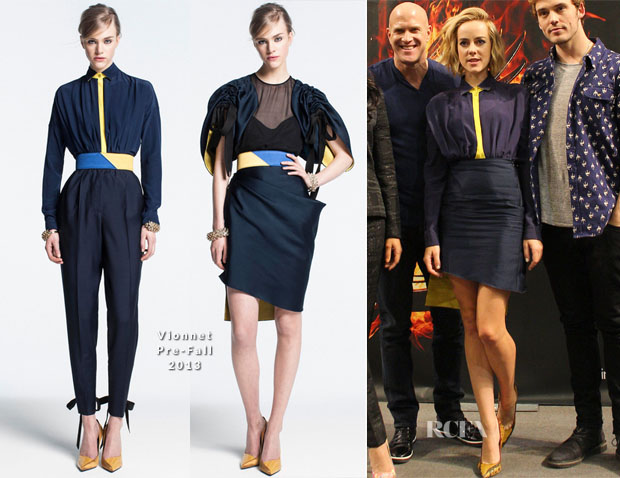 Jena Malone In Vionnet - 'The Hunger Games Catching Fire' Mall Of America Tour