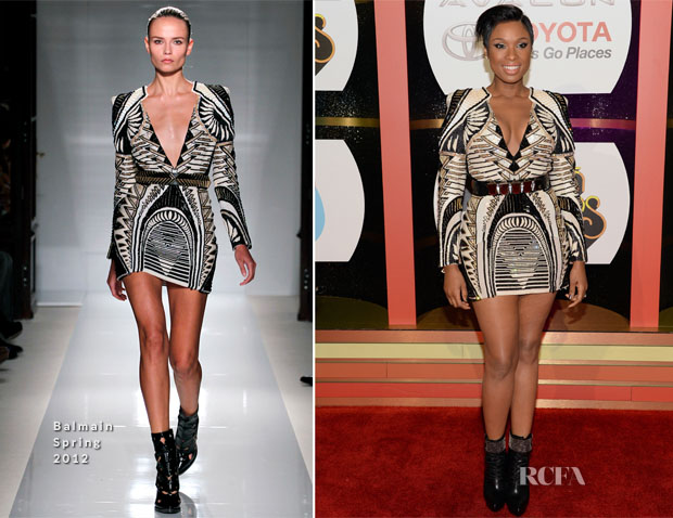 Jennifer Hudson In Balmain - 2013 Soul Train Awards