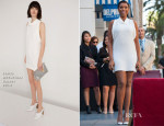 Jennifer Hudson In Stella McCartney - Hollywood Walk of Fame Unveiling