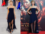 Jennifer Lawrence In Christian Dior - 'The Hunger Games: Catching Fire' Madrid Premiere