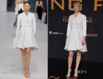 Jennifer Lawrence In Christian Dior - 'The Hunger Games: Catching Fire' Berlin Premiere