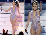 Jennifer Lopez In Zuhair Murad Couture & Naeem Khan - 2013 American Music Awards