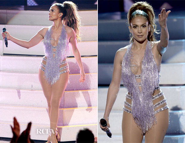 Jennifer Lopez In Zuhair Murad Couture Amp Naeem Khan 2013