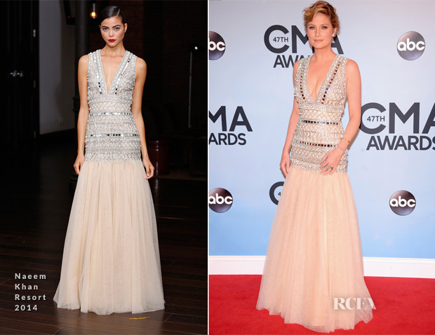 Jennifer Nettles In Naeem Khan - 2013 CMA Awards