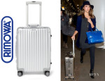 Jessica Alba's Rimowa 'Topas' Multiwheel Carry-On Suitcase