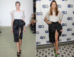 Jessica Biel In Giambattista Valli - GQ Men Of The Year Dinner