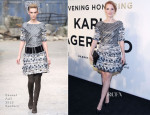 Jessica Chastain In Chanel Couture - An Evening Honoring Karl Lagerfeld