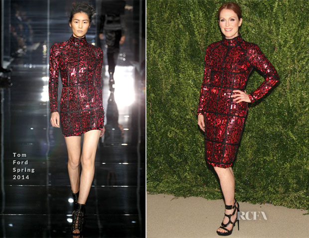 Julianne Moore In Tom Ford - CFDA And Vogue 2013 Fashion Fund Finalists
