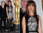 Juliette Lewis In Pamella Roland - 'August: Osage County' New York Screening