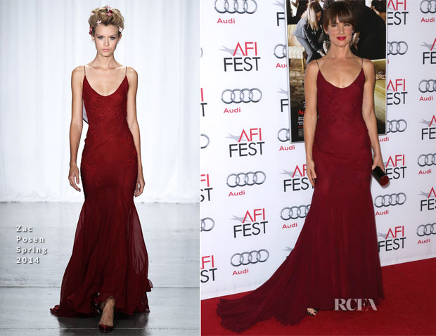Juliette Lewis In Zac Posen - 'August Osage County' AFI Fest Premiere
