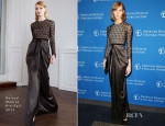 Karlie Kloss In Roland Mouret - American Museum Of Natural History's 2013 Museum Gala