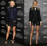 Karolina Kurkova In Salvatore Ferragamo & Dsquared² - The Pirelli Calendar 50th Anniversary