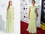 Kasia Smutniak In Valentino - Cinema Italian Style 2013 - 'The Great Beauty' Opening Night Premiere