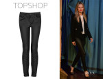 Kate Bosworth's Tosphop Stretch Skinny Leather Trousers