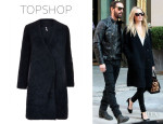 Kate Bosworth's Topshop Sheepskin Boyfriend Coat