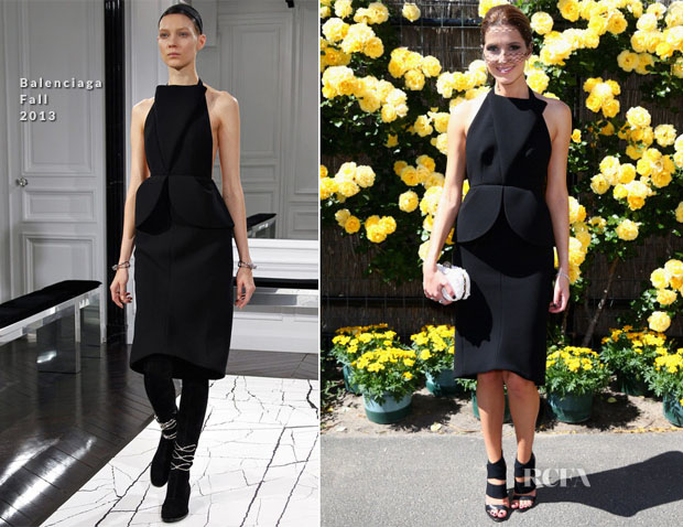 Kate Waterhouse In Balenciaga - Victoria Derby Day