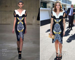 Kate Waterhouse In Peter Pilotto - Melbourne Cup Day