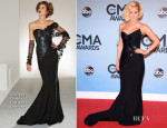 Kellie Pickler In Georges Chakra Couture - 2013 CMA Awards