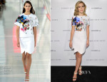 Kiernan Shipka In Preen - British Fashion Council Style Suites