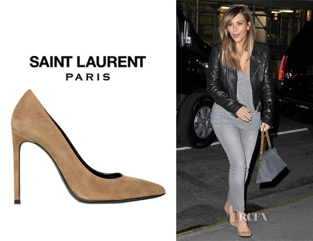Saint Laurent Suede Paris Pumps low price cheap price bwacORN